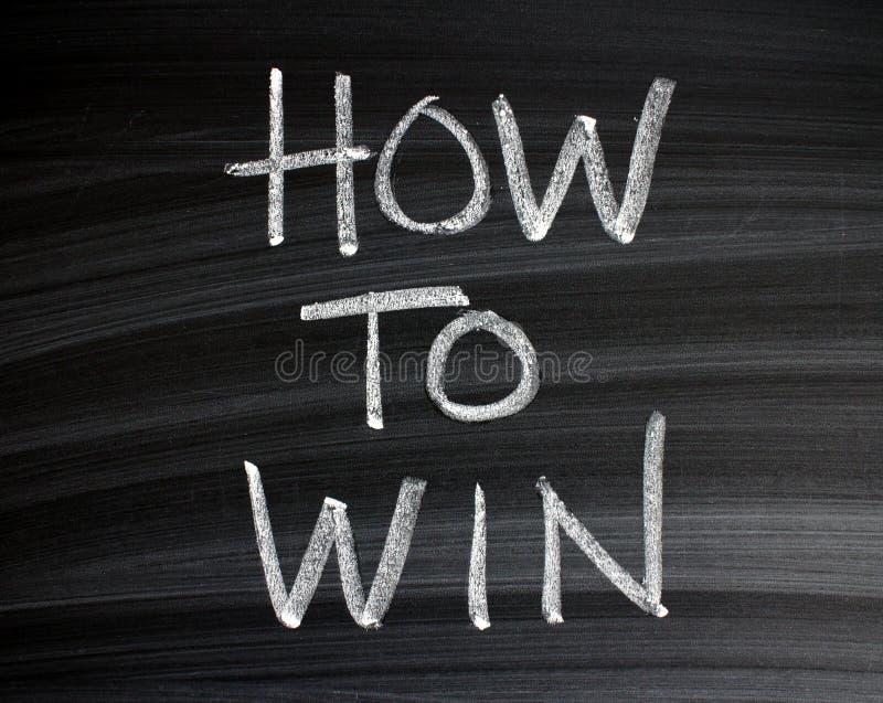 Słowa Dlaczego Wygrywać na Blackboard obrazy stock