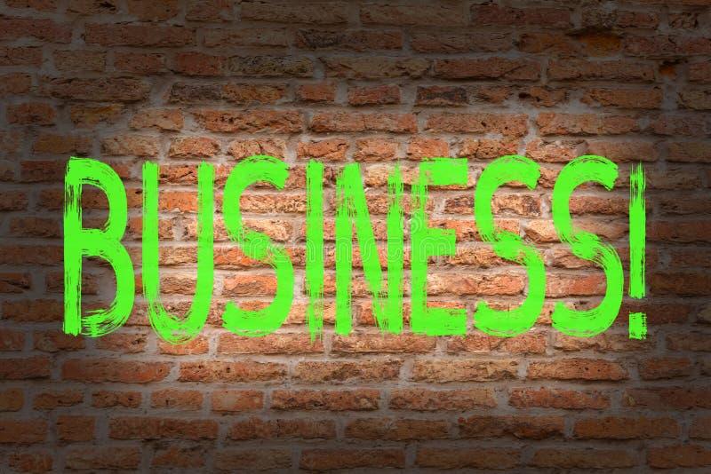 Słowa writing teksta biznes Biznesowy pojęcie dla Handlowej pracy Specjalności Korporacyjny Zajęcie Przedsiębiorca Firma cegły ilustracja wektor