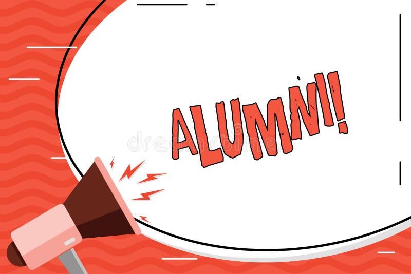 Słowa writing teksta wychowankowie Biznesowy pojęcie dla Ałunowego Starego magisterskiego Podyplomowego zgromadzenie szkoły wyższ ilustracji