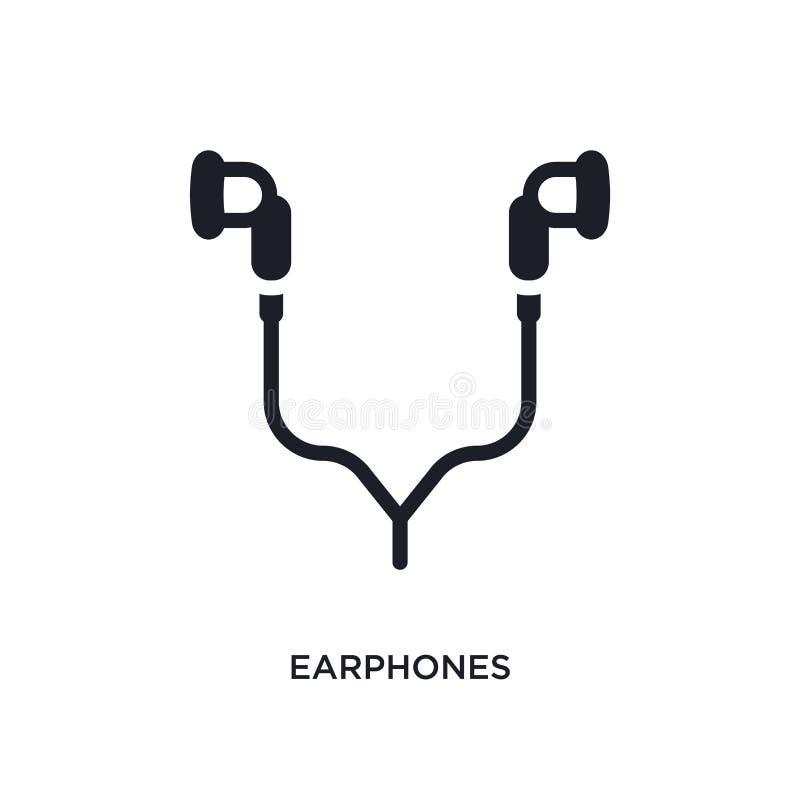 słuchawki odosobniona ikona prosta element ilustracja od urządzenia elektronicznego pojęcia ikon słuchawka logo znaka editable sy ilustracji