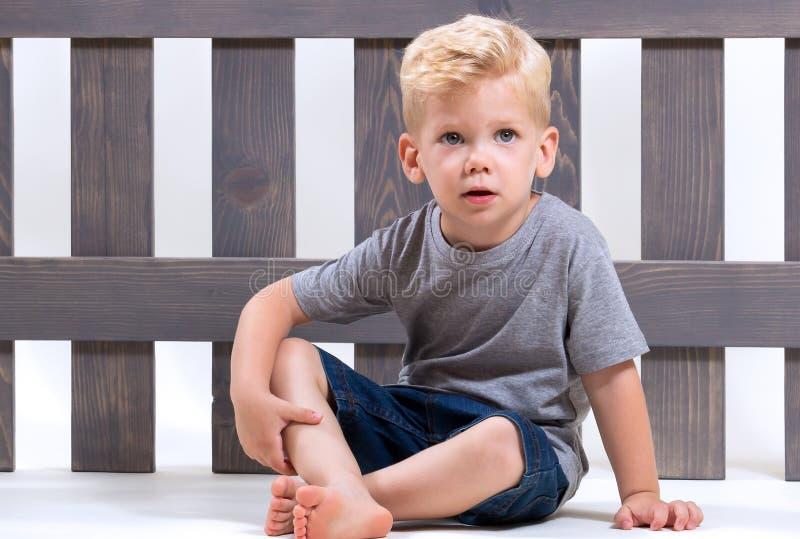 Séance d'enfant de beauté photo libre de droits