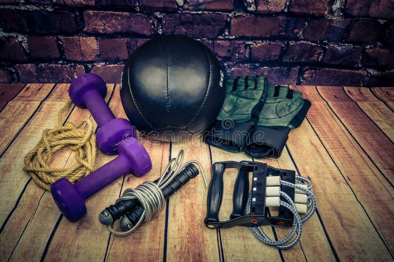 Séance d'entraînement d'équipement de sport image stock