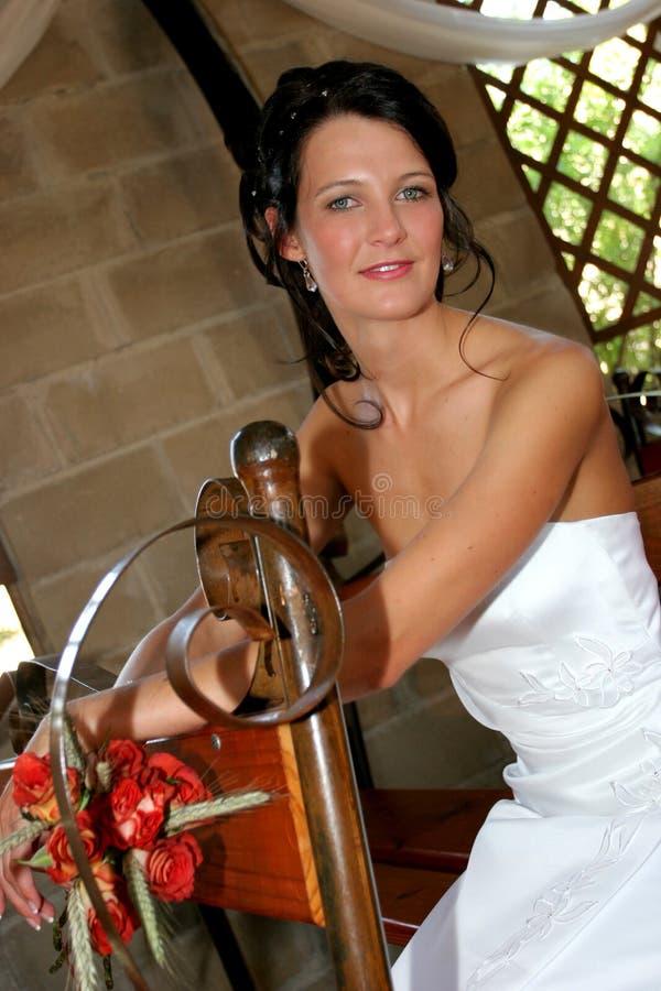 Séance de mariée photo stock