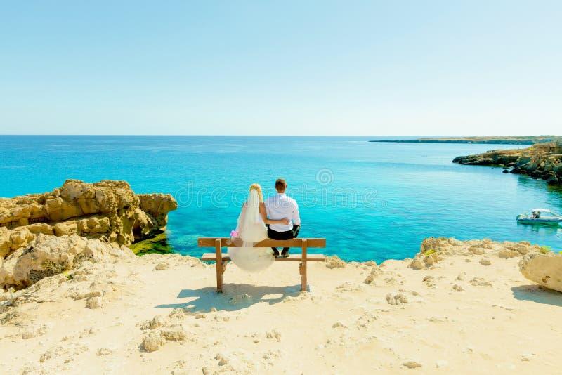 Séance photos de mariage photo libre de droits
