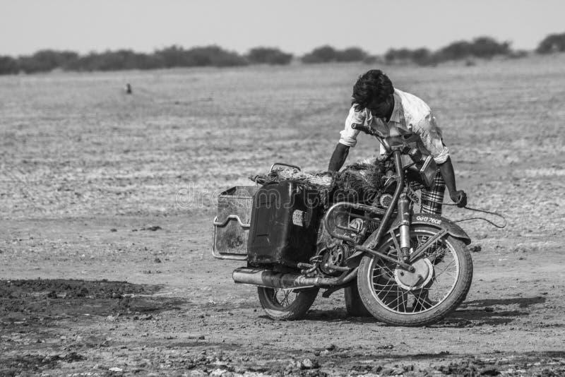 Sécheresse - Inde photographie stock