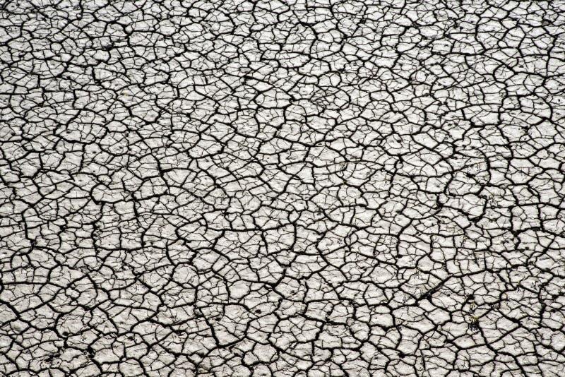 Sécheresse, terre sèche Coucher du soleil spectaculaire images stock