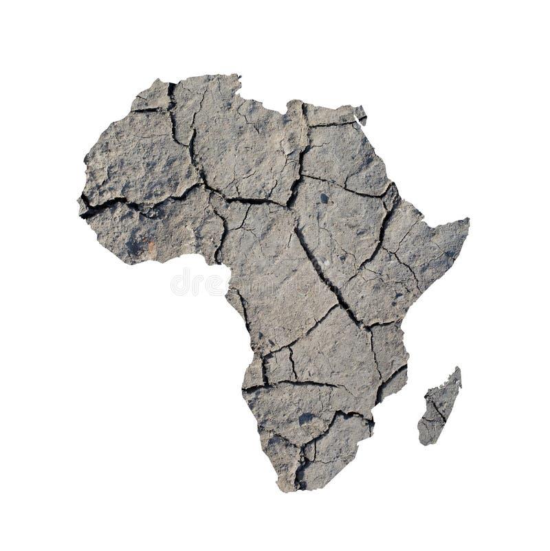 Sécheresses en Afrique photo libre de droits