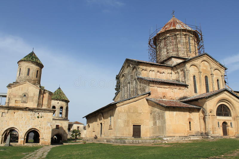 Século do monastério XII de Gelati imagem de stock
