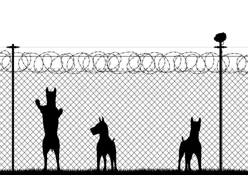 Sécurité illustration libre de droits
