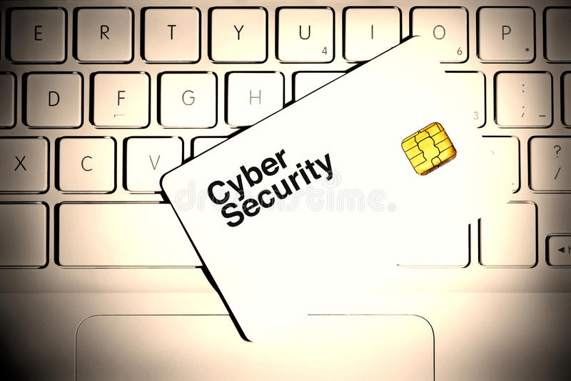 Sécurité de Cyber photos stock