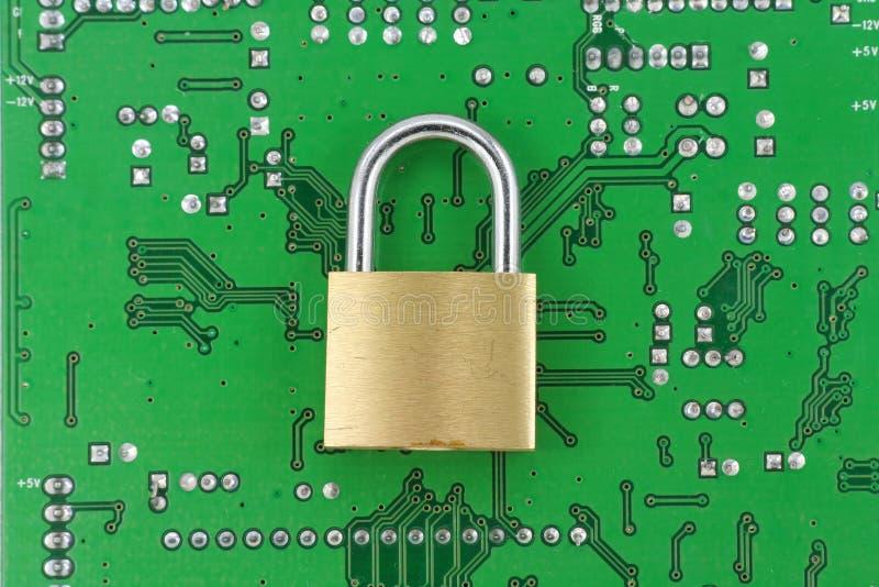 Sécurité en ligne image libre de droits