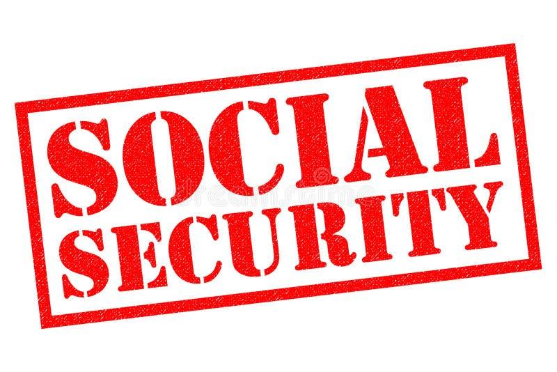 Sécurité sociale illustration libre de droits