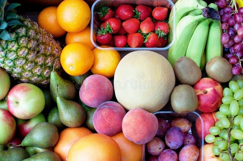 Sélection de fruit photos libres de droits