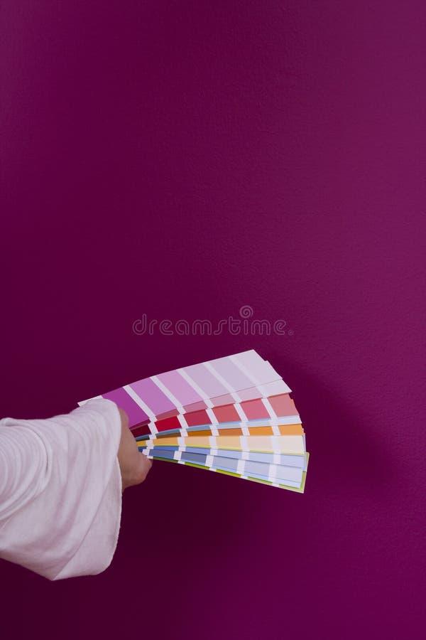 Sélection de la couleur image stock
