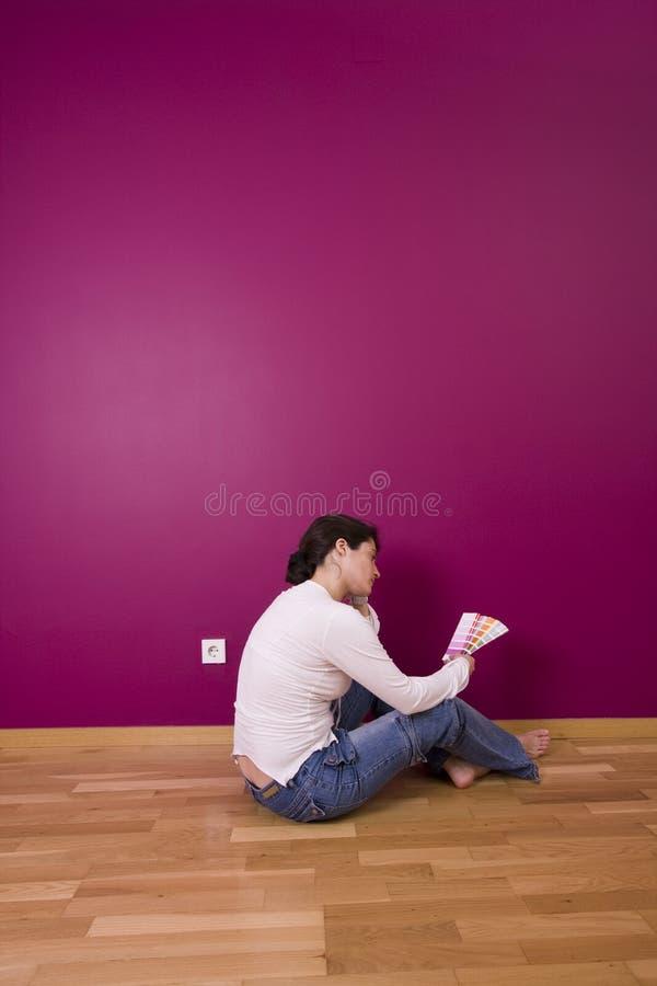 Sélection de la couleur images libres de droits
