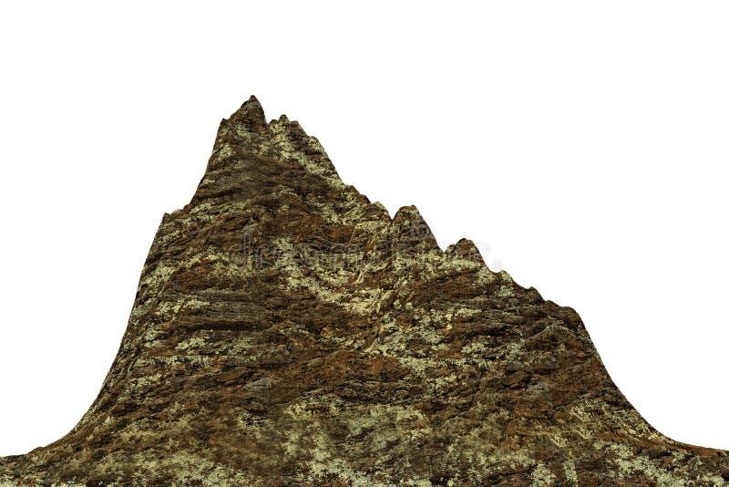 Sélection de montagne illustration libre de droits