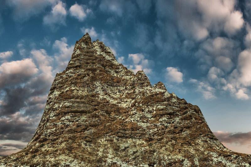 Sélection de montagne illustration de vecteur