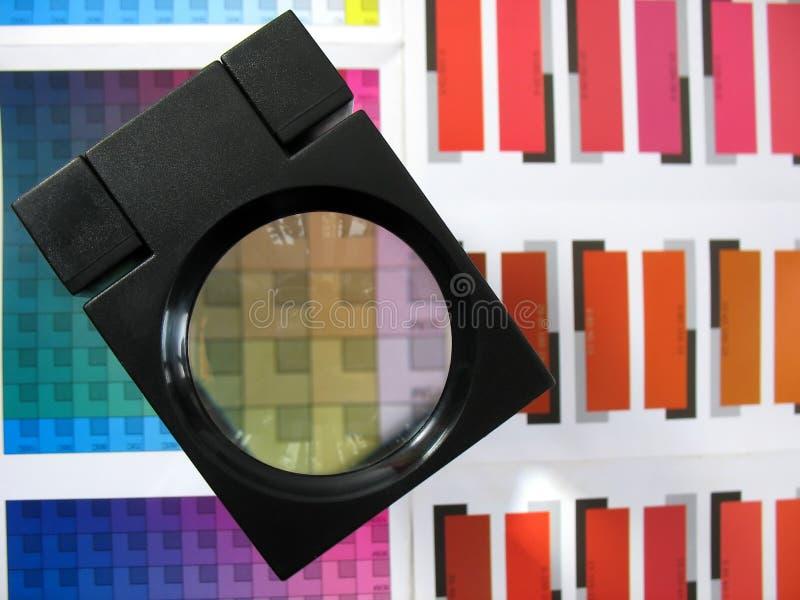 Sélection des couleurs image stock