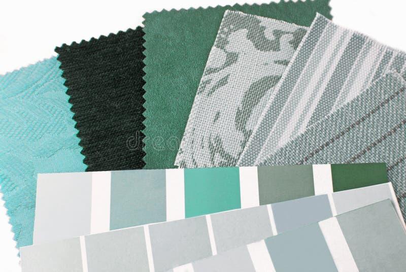 Sélection en bon état de conception de couleur verte photos stock