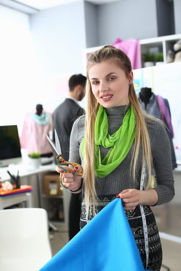 Sélection matérielle pour la conception de vêtement de mode photo stock