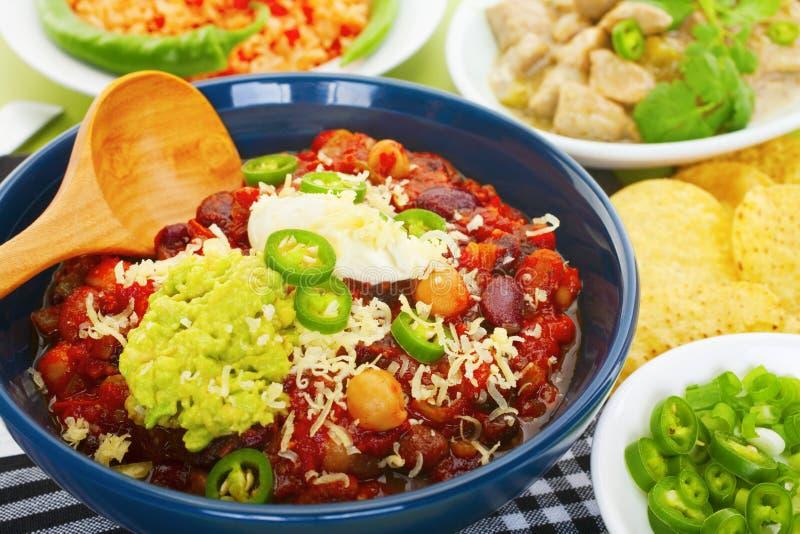 Sélection mexicaine de nourriture photographie stock