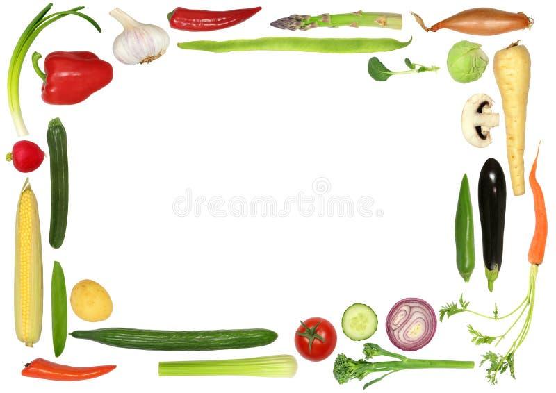 Sélection végétale saine illustration stock