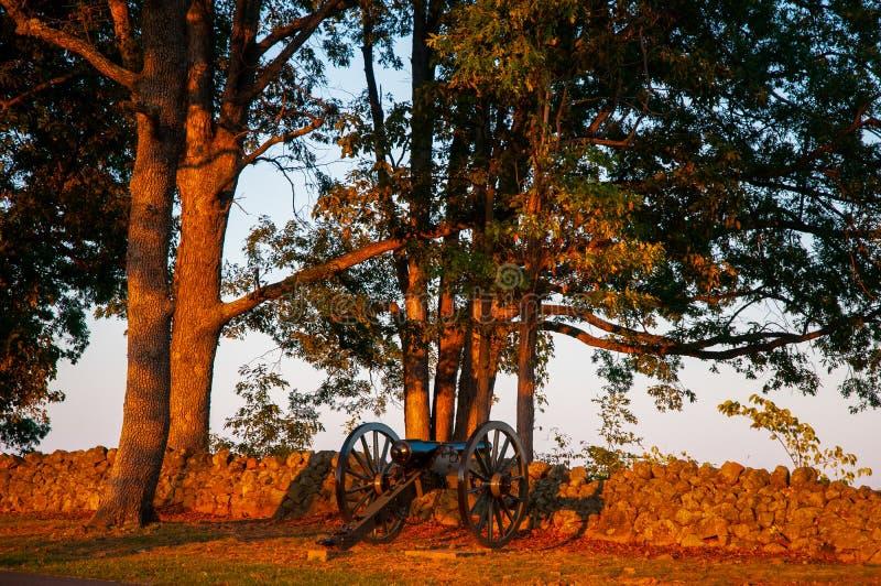 Séminaire confédéré Ridge Sunset de canon photo libre de droits