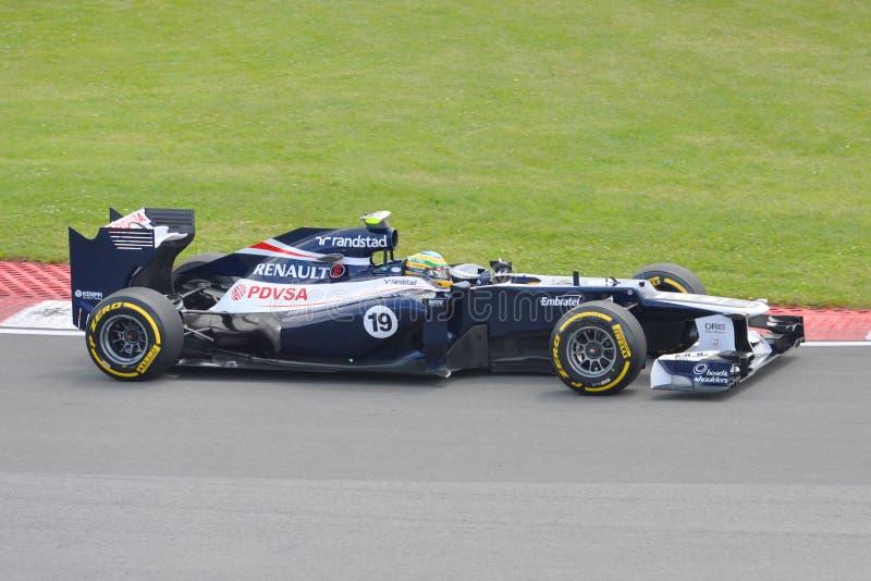 Séné de Bruno dans 2012 F1 Prix grand canadien photo libre de droits