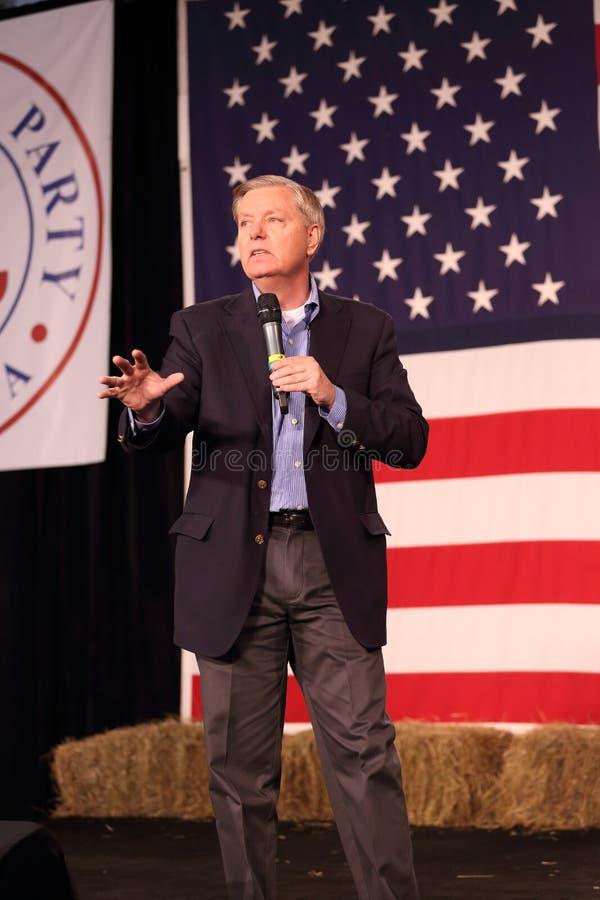 Sénateur des Etats-Unis de la Caroline du Sud, Lindsey Graham images libres de droits