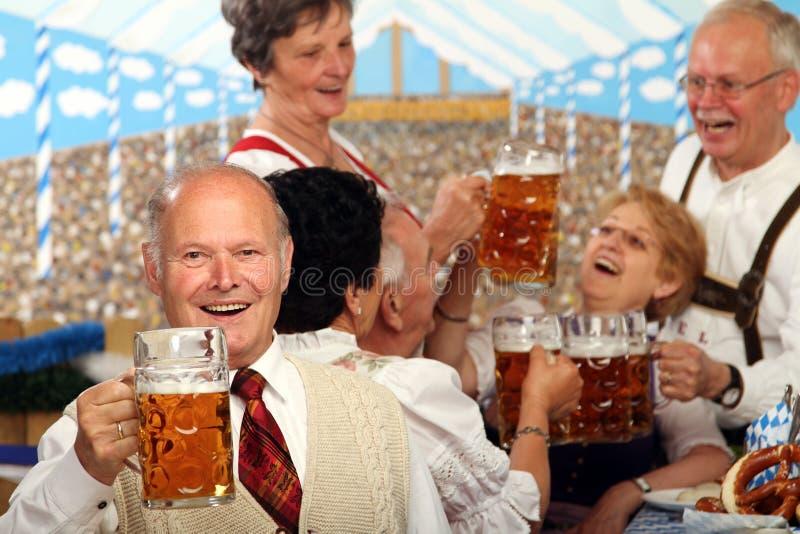 Séniores bávaros fotografia de stock royalty free