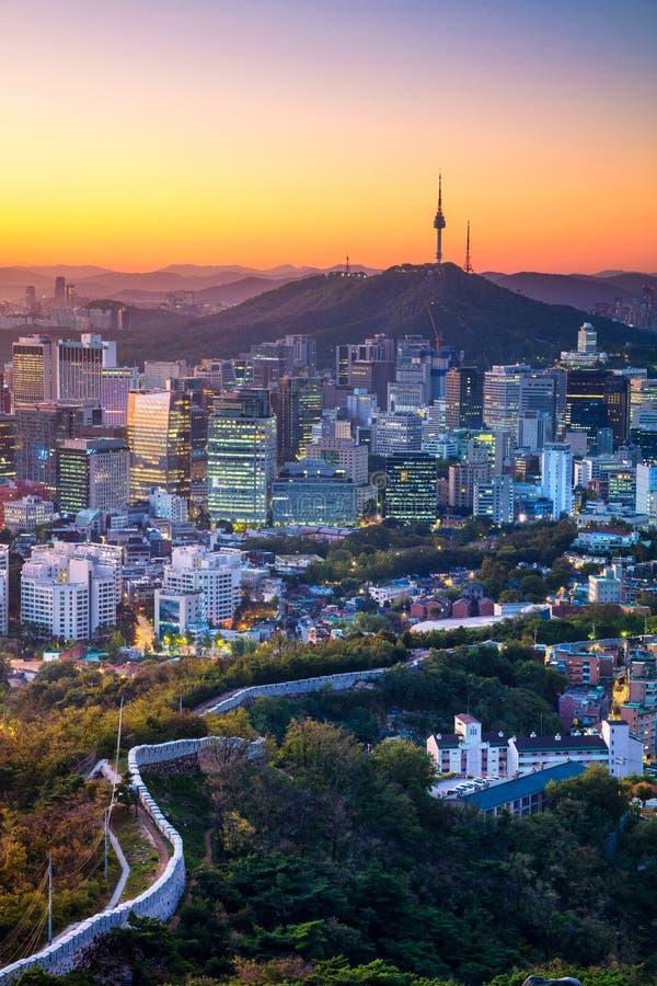 Séoul photo stock