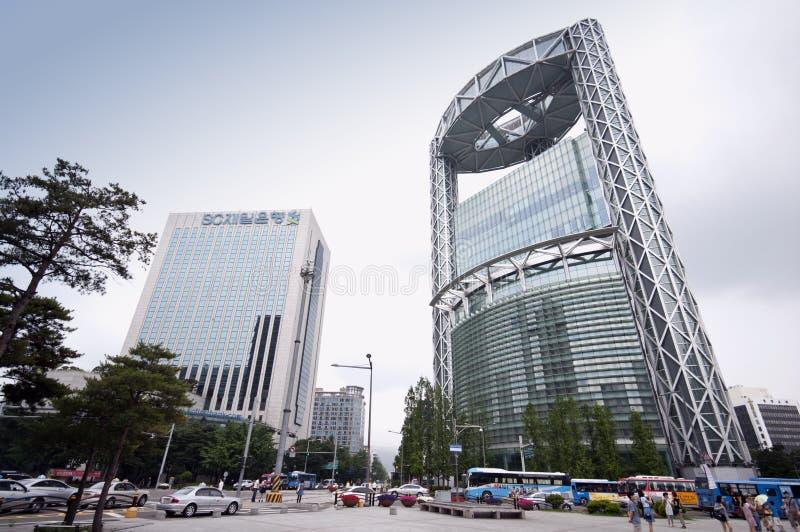 Séoul - tour de Jongno image stock