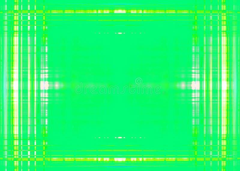 Séparateur de lignes approximatifs vert clair illustration stock