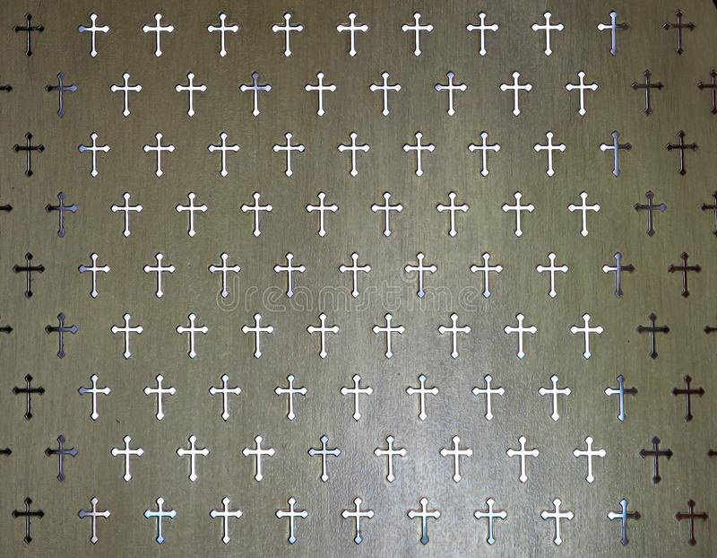Séparation de détail pour accepter un péché dans Roman Catholic Church image stock