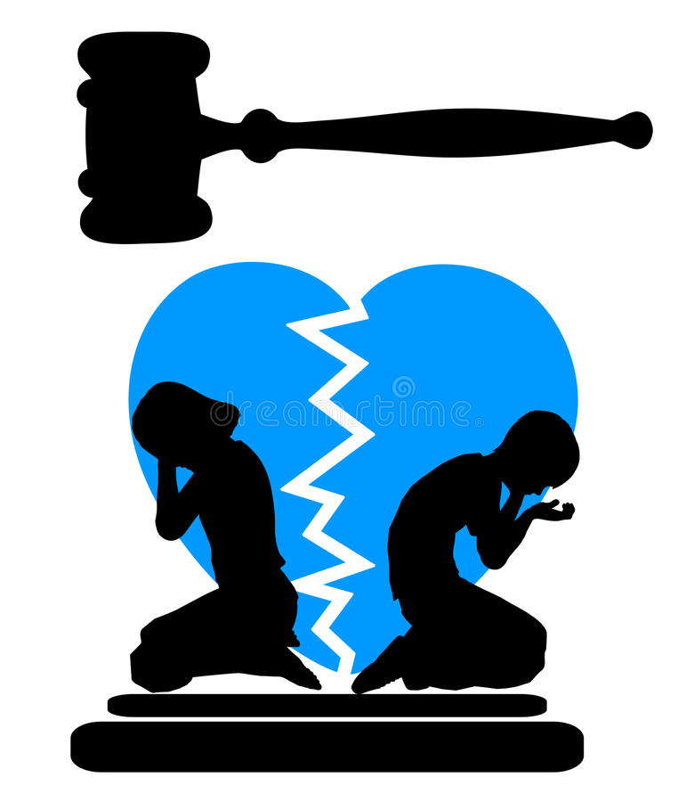 s paration des enfants de m mes parents avec le divorce illustration stock illustration du. Black Bedroom Furniture Sets. Home Design Ideas