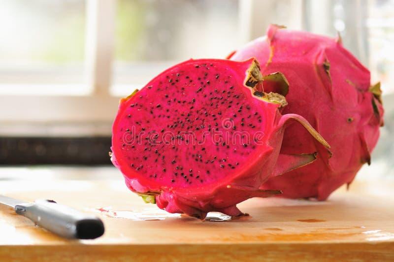 Série 1 da fruta do dragão fotografia de stock