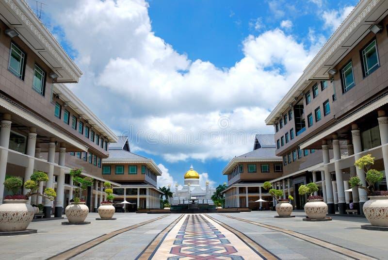 Série 1 do edifício de Moden fotografia de stock royalty free