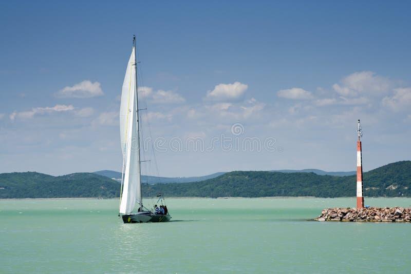 Série 12 do lago Balaton. fotos de stock