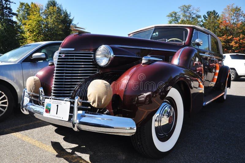Série 1940 convertível do sedan de Cadillac 75 fotos de stock royalty free