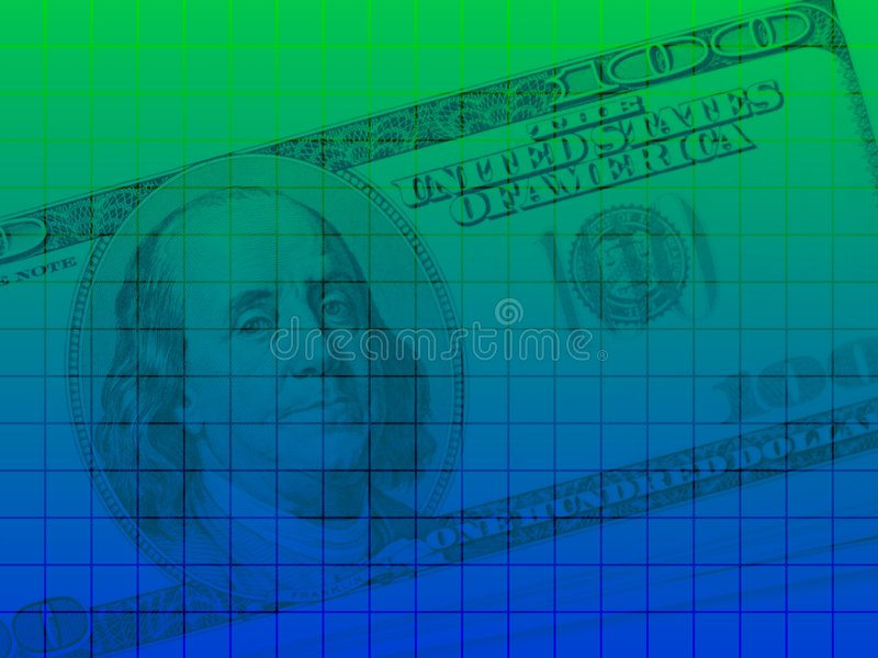 Série 2 de dollar US illustration stock
