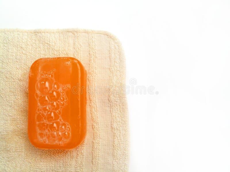 Série 2 de savon photographie stock
