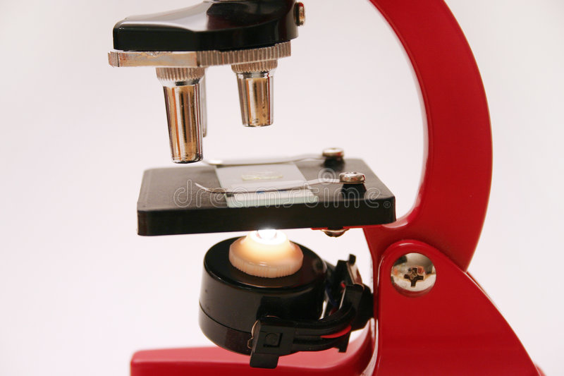 Série 2 do microscópio fotos de stock