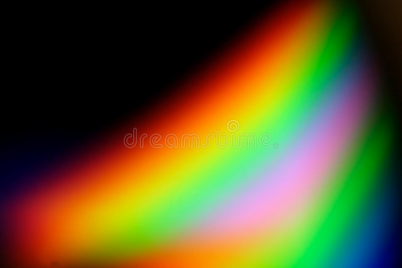 Série #4 do arco-íris ilustração do vetor