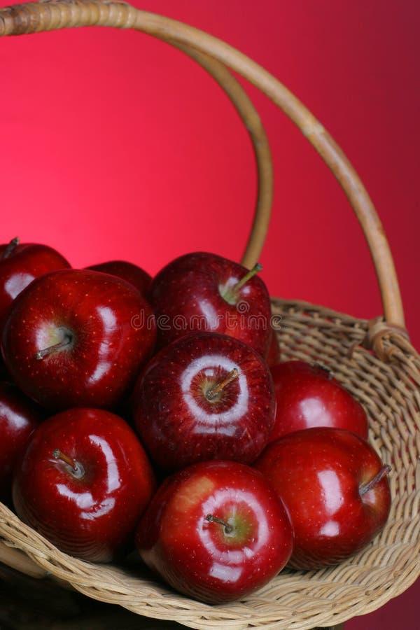 Série 6 de pommes image stock