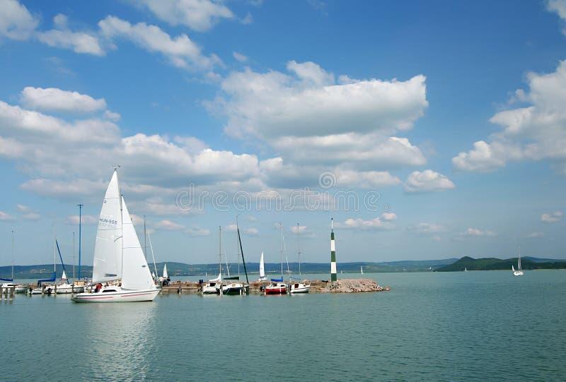 Série 7. do lago Balaton. imagens de stock