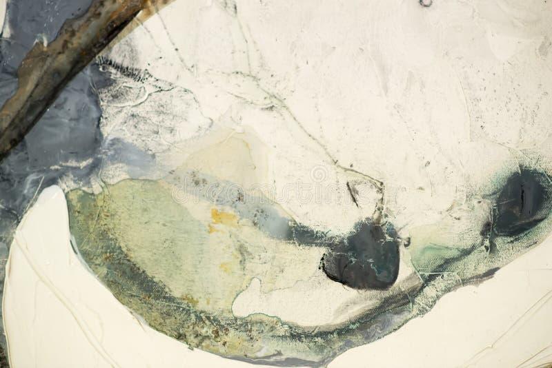Série abstraite d'éclaboussure de couleur Conception de fond de peinture de fractale images stock