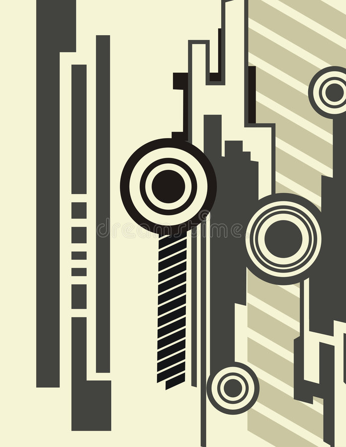 Série abstraite de fond illustration libre de droits