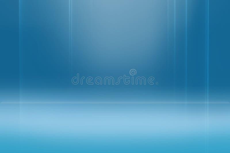 Série azul abstrata gráfica do conceito do fundo ilustração royalty free