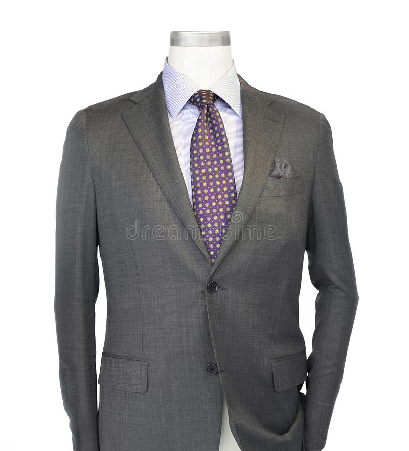 Série, camisa e laço do Mens imagens de stock royalty free