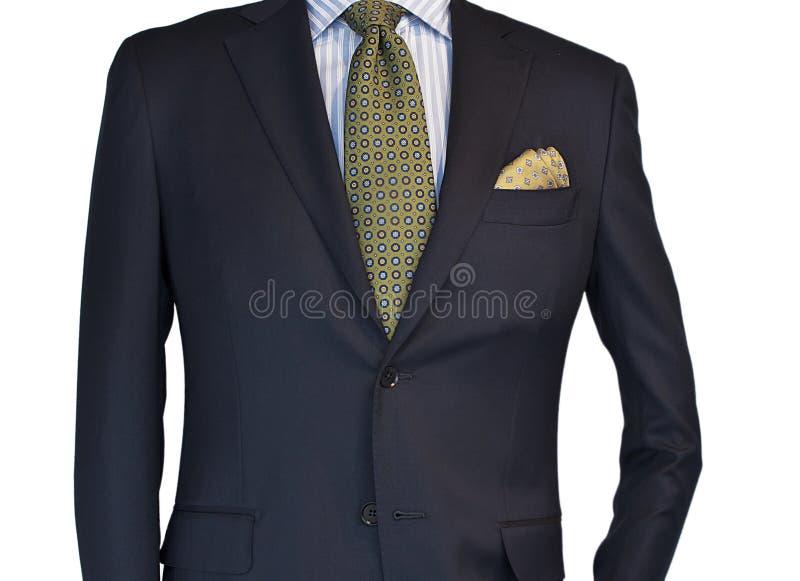 Série, camisa e laço do Mens fotografia de stock